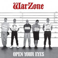 Warzone - Open Your Eyes LP (30th anniversary press)