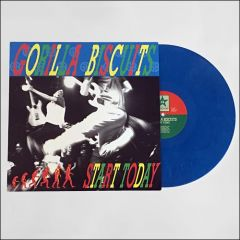 Gorilla Biscuits - Start Today LP (Opaque Blue Vinyl)