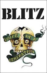 Blitz - Voice Of A Generation Tape