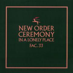 New Order - Cermony 12
