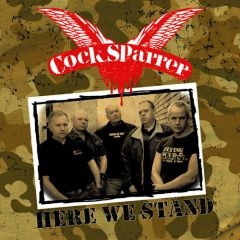 Cock Sparrer - Here We Stand LP + DVD