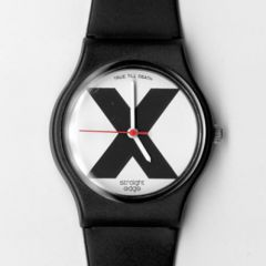 Straight Edge X-Wrist Watch