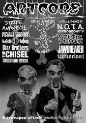 Artcore No. 40 Fanzine/ with NOTA - Moscow 7