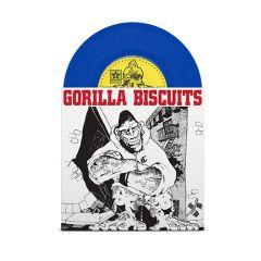 Gorilla Biscuits - s/t 7 (blue vinyl)