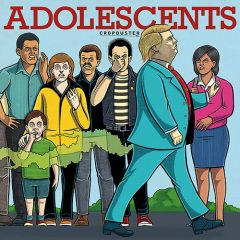 Adolescents - Cropduster LP