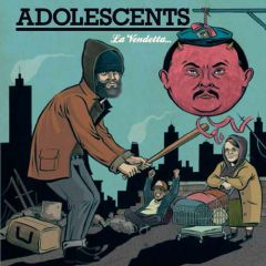 Adolescents - La Vendetta... LP